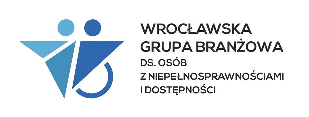 logo Wrocławskiej Grupy Branżowej do spraw Osób z Niepełnosprawnościami i Dostępności przestrzeni publicznej i usług